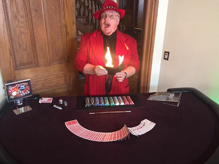 magican , magic show, comedy murder mystery