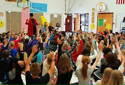 school magic shows, childrens magic, magician, magic, library entertainment