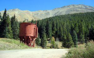 Water Tank, Boreas Pass, fall color