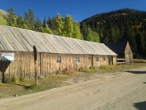 Stable and Blacksmith Shop, St. Elmo Colorado