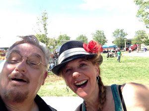 June magic, magic show, busker, street magic, Amazing Dave Elstun