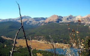 Ten Mile Range, Boreas Pass, fall collor