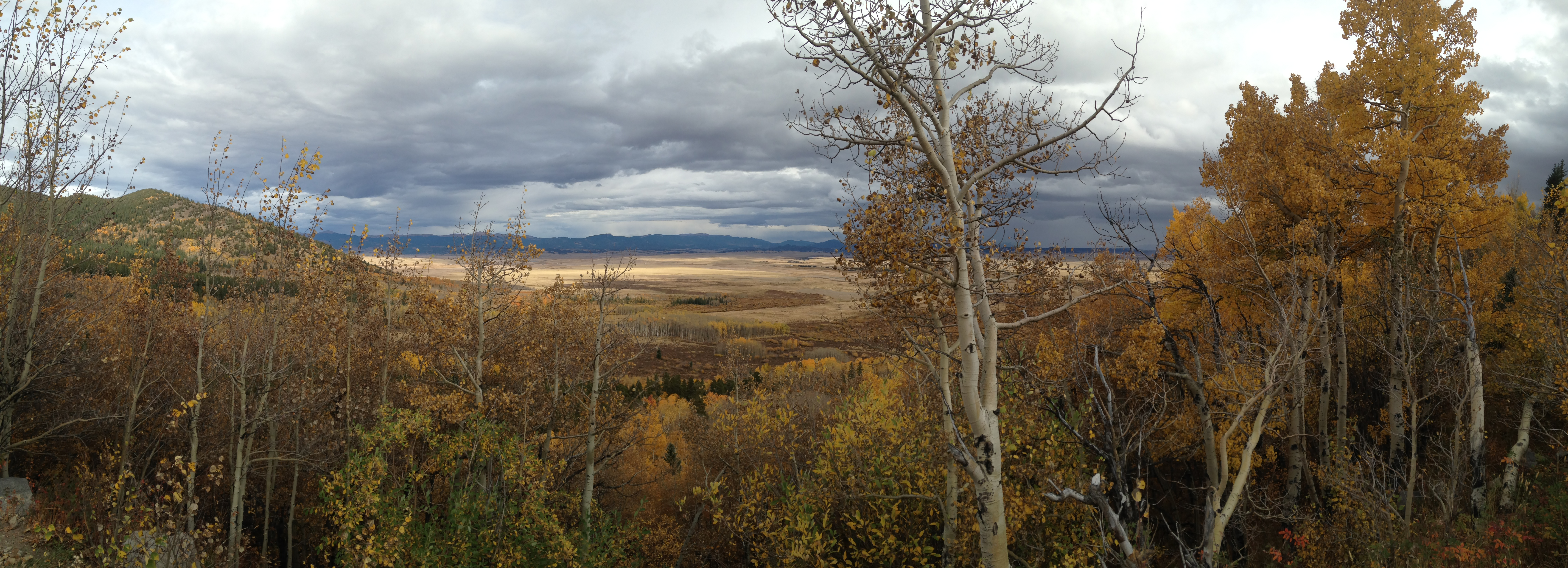 South Park from Boreas Pass, fall color