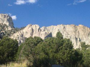 Fall Color, The Chalk Cliffs, St. Elmo Colorado