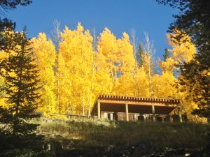 St. Elmo Colorado, Fall color