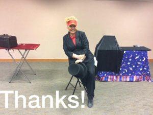 June magic, magic show, magicians, magician, Connie Elstun, Amazing Elstuns