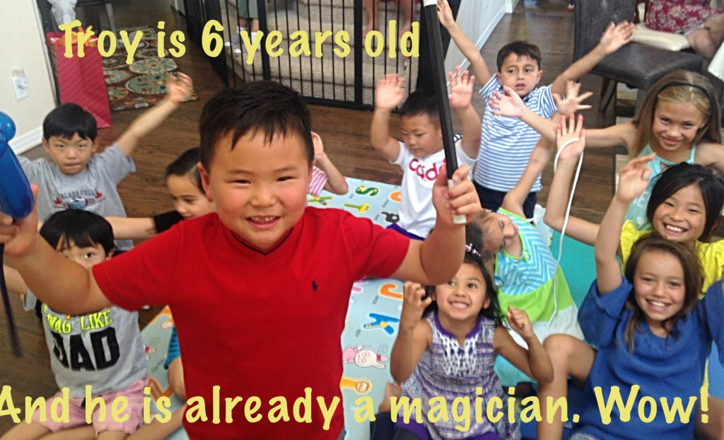 birthday magic, birthday magic show, birthday magician